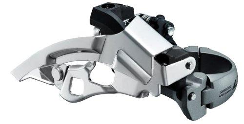 (Shimano Deore LX FD-T660 Front Derailleur - 10-Speed, DPTS, 28.6/34.9mm,)