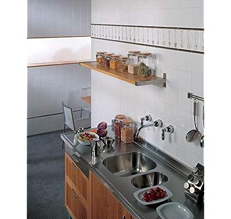 Azulejo blanco brillo 15x15: Amazon.es: Bricolaje y herramientas