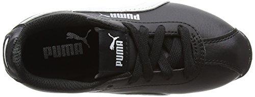 Black Puma Turin White puma Niños Ps Zapatillas Unisex Negro puma r0qrUOwx