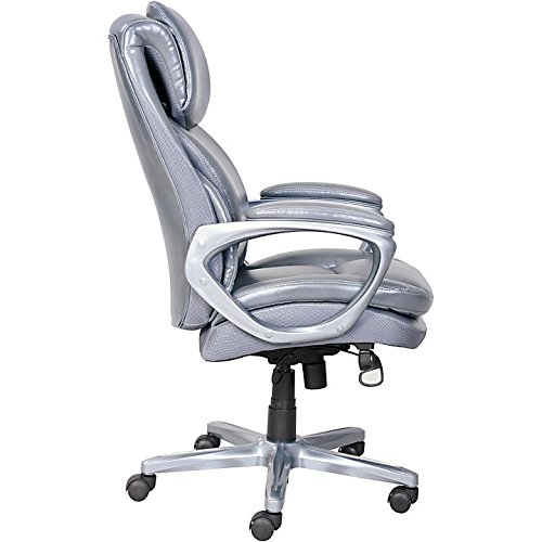 Amazon.com: Serta(R) Smart Layers(TM) AIR Arlington Executive Chair,  Gray/Pewter: Kitchen U0026 Dining