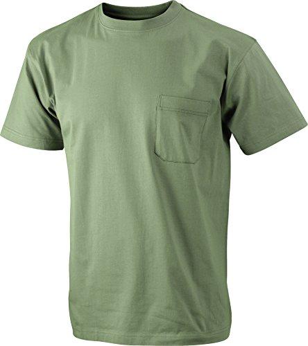 shirt T Pocket Khaki Taschino Classica Men's 2store24 Round t Con RUwHwx