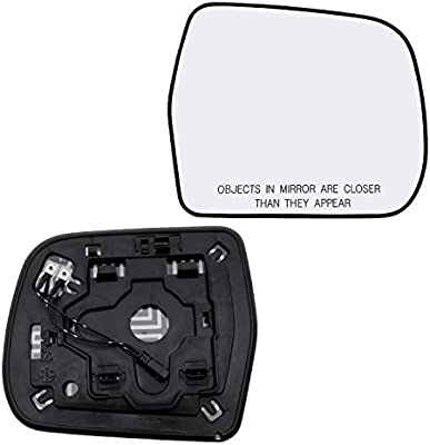New Replacement Passenger Side Mirror Glass W Backing Compatible With 2007 2008 2009 2010 2011 2012 2013 2014 Toyota FJ Cruiser Sold By Rugged TUFF