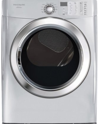 FASG7073NA Affinity Series 7.0 Cu. Ft. Capacity 27' Wide Front-Load Gas Dryer Featuring Ready Steam 10 Dry Cycles DrySense Technology TimeWise Technology SilentDesign: Classic