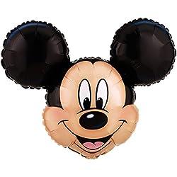 """BirthdayExpress Disney Mickey Mouse Head Jumbo 27"""" Foil Balloon"""
