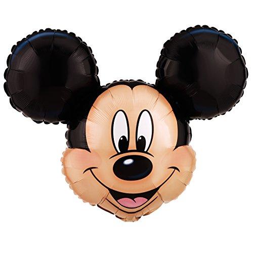 1 Ballon Mylar- 69 x 53 cm-Mickey - Taille Unique