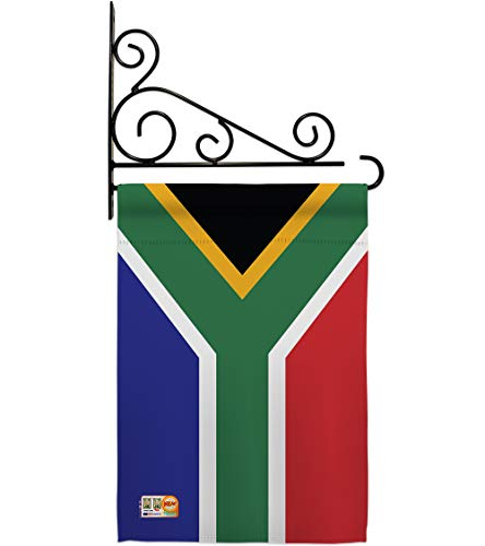 Americana Home & Garden GS140218-P3-03 South Africa Flags of The World Nationality Impressions Decorative Vertical 13