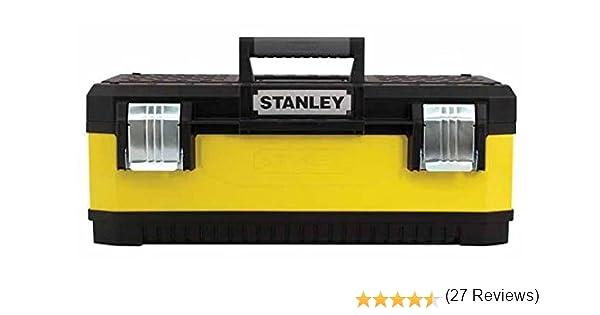 Stanley 1-95-614 - Caja de herramientas (66,2 x 29,3 x 22,2 cm): Amazon.es: Bricolaje y herramientas