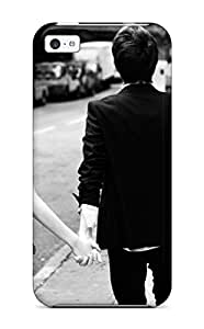 High-quality Durable Protection Case For Iphone 5c(romantic Boy Girl Holding Hands)