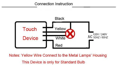 Marvelous Bqlzr Touch Lamp Desk Light 3 Way Sensor Switch Dimmer Repair Ac Wiring 101 Ivorowellnesstrialsorg