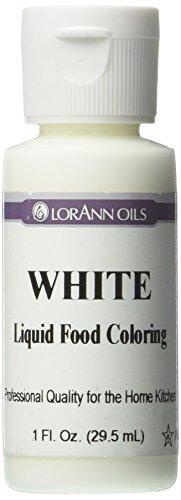 Lorann Oils Liquid Food Color, 1-Ounce, White