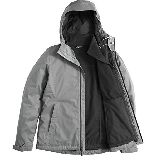 The North Face Women's Arrowood Tri-Climate Jacket Mid Grey Dobby (X-Large) by The North Face (Image #2)