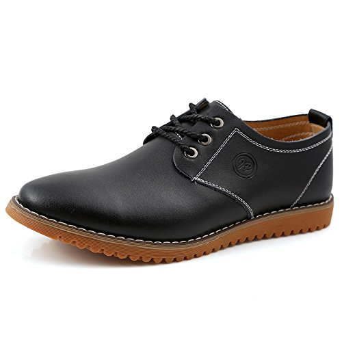 ZhaoDao158 Men's Big Size Business Casual Leather Oxfords Shoes