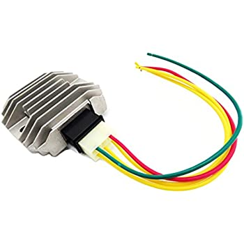 Voltage Rectifier Regulator Fits Yamaha YZF R6 1997-2012 YZF R1 1999-2001 WR250R 2008-2013 FZ6 2004-2009 and More
