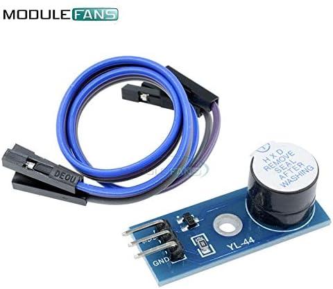 Carvicto Active Buzzer Alarm Module Sensor Beep Board For Arduino Smart Car 3.3v-5V MCU IO Port With Dupont Line Diy Electronic Module