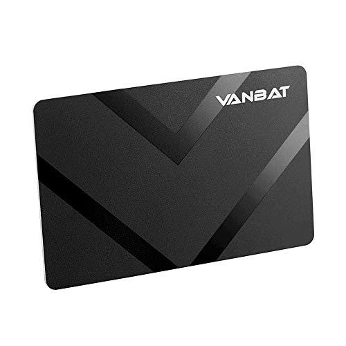 VANBAT Credit Card Protector - Better than RFID Blocking Sleeves - 100% Wallet Shield for NFC Debit Bank Card