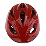 FLAMEER Scooter Skate Board Helmet Roller Bicycle Adjustable Helmet Kids Bike Helmet Age 3-10 Years Kids - Dark Red