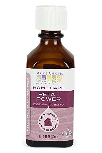 Home Care Petal Power Essential Oil Blend Aura Cacia 2 fl oz
