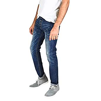 Tozai Line Blue Slim Fit Jeans Pant For Men