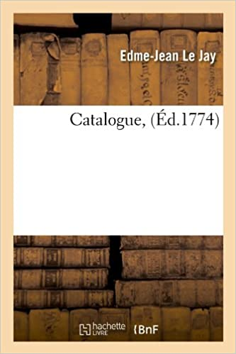 Catalogue, (Ed.1774) (Generalites)