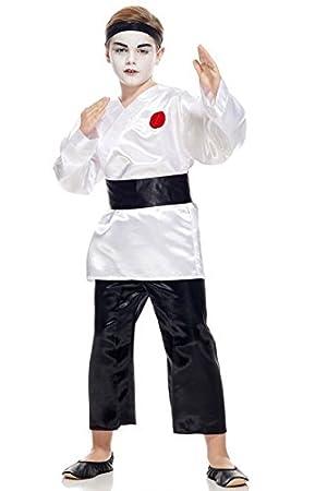 Aec cu260249/140 Disfraz niño samurái, 140 cm: Amazon.es: Juguetes ...