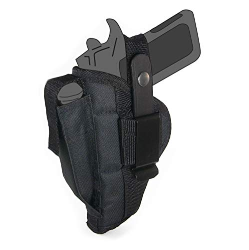 Belt Side Holster fits Springfield 1911-A1 Mil Spec with 5