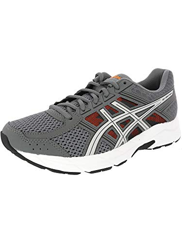 ASICS Mens Gel-Contend 4 Low Top Lace, Carbon/Silver/Shocking Orange, Size 6.5 by ASICS (Image #4)