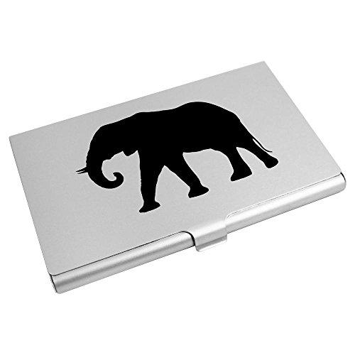Credit Silhouette' Azeeda Card Card CH00002668 Wallet 'Elephant Holder Business wfATqHAX