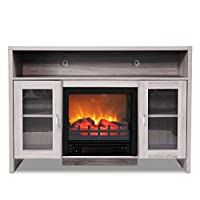 """JAXPETY 42.5"""" Large Electric Firepl..."""