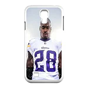 Yearinspace Adrian Peterson Case For Samsung Galaxy S4 Scratch Resistant, Case For Samsung Galaxy S4 Mini For Guys With White