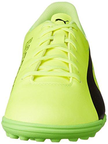 Puma Herren evoSPEED 17.5 TT Fußballschuhe, Gelb (Safety Yellow Black-Green Gecko 01), 42.5 EU