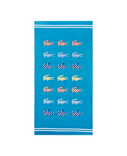 Lacoste Sunny Beach Towel Turquoise ()