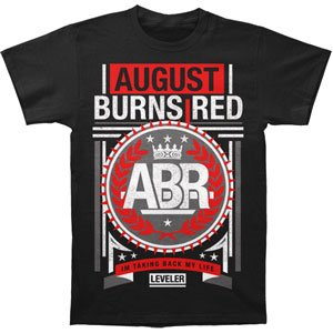 August Burns Red - Crown (Slim fit) T-Shirt Size M Black