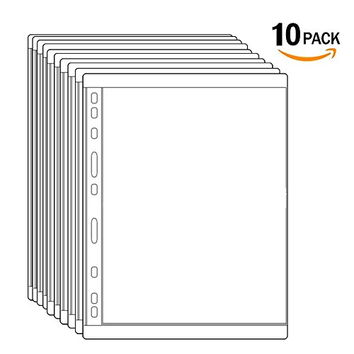 - Stamp Stock Pages Plastic Clear Coin Holders for Currency Collection 10 Pages