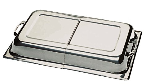 Update International CC-1/HDC Hinged Dome Cover Lid for Chafer or Steam Table, Case of 3
