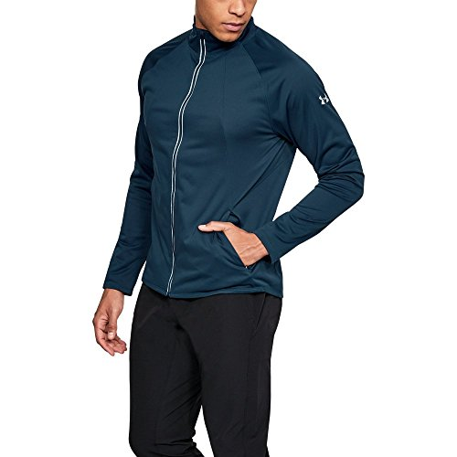 Under Armour Men's Storm ColdGear Reactor PickUpThePace Jacket,True Ink (918)/Reflective, Medium by Under Armour (Image #1)