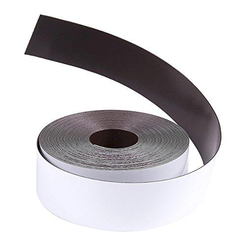Juvale Magnetic Tape Roll - Rewritable Magnetic Dry