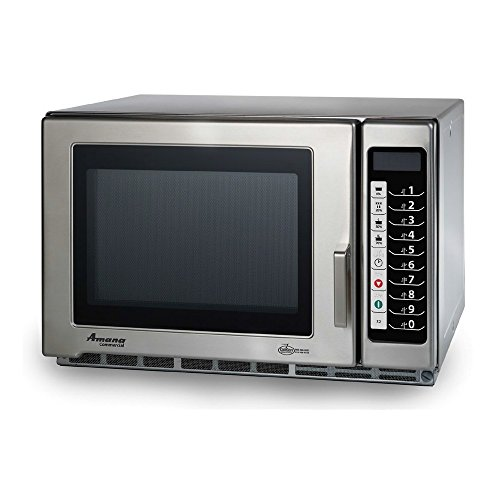 Accelerated Cooking Products RFS18TS Touch Panel Commercial Microwave Oven, Amana RFS Restaurant Line Series, 1800W For Sale