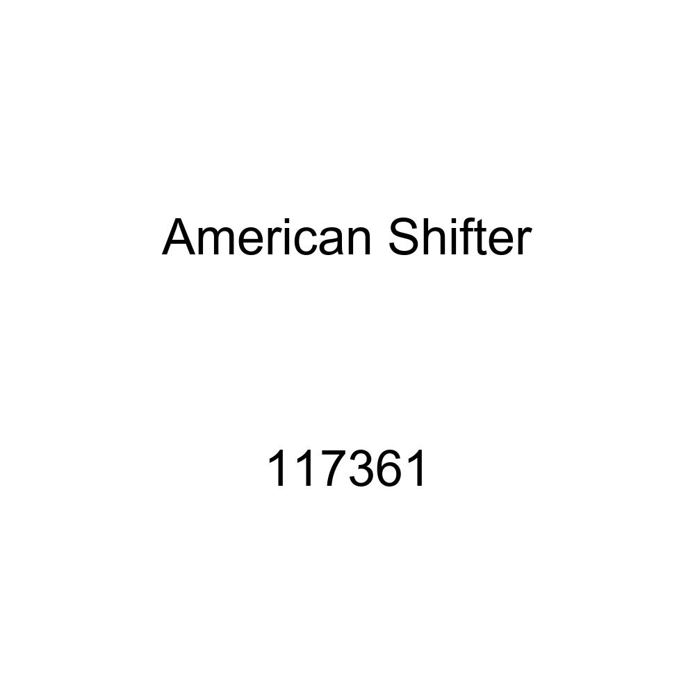 American Shifter 117361 Red Stripe Shift Knob with M16 x 1.5 Insert Yellow 5 Speed Shift Pattern - 5UR-RUL