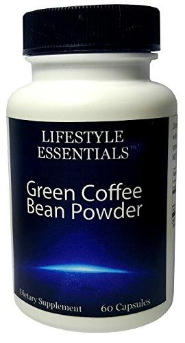 Lifestyle Essentials Green Coffee Bean Powder Capsule 30 Day Supply