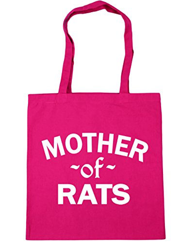 x38cm litres Beach Rats HippoWarehouse 10 Mother Bag Gym Tote 42cm Fuchsia Of Shopping PznanOwHq