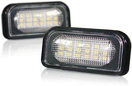 LED Number Plate Light Mercedes C-Class W203/Chrysler Crossfire Module
