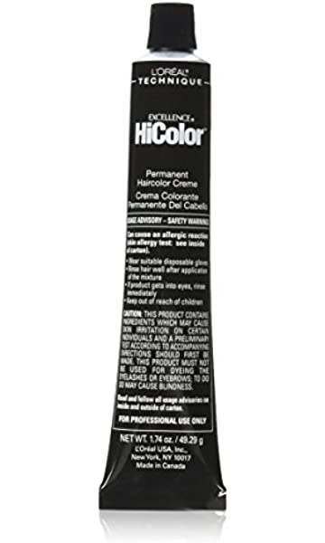 L\'Oreal Excellence HiColor Hair Color - Deep Auburn Red 1.74 oz ...