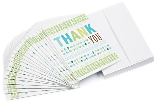 Amazon.com $10 Gift Cards, Pack of 20 with Greeting Cards (Thank You Design)