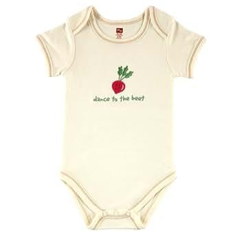 Hudson Baby Organic Bodysuit - Beet, 6-9 Months