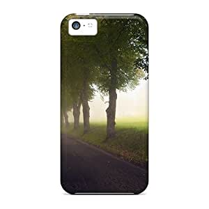 New Premium Dana Lindsey Mendez Peaceful Walk Skin Case Cover Excellent Fitted For Iphone 5c