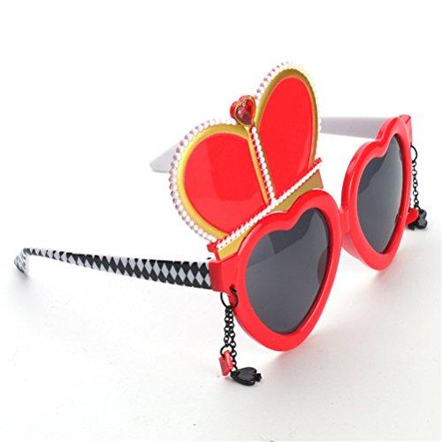 de de decoración Night Gafas del para Reina disfraces partido sol Atrezzo Accesorios la Gafas Good pEn4F4