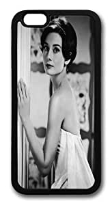 Audrey Hepburn 8 TPU Silicone Case Cover for iPhone 6 4.7 inch Black
