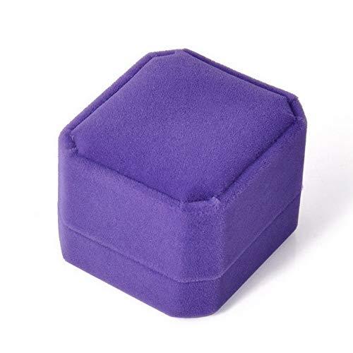 - Tomikko Velvet Engagement Wedding Earring Ring Pendant Jewelry Box Display Case Gift | Model ERRNGS - 11781 |