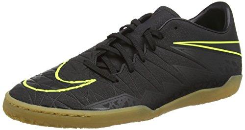 Nike Mens Hypervenom Phelon II IC Black/Black/Volt Size 11.5