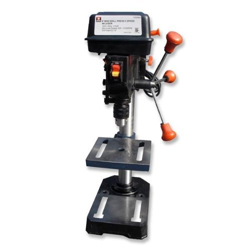 Neiko 10306A Professional Grade Bench Drill Press with Laser Guide, 8'' by Neiko
